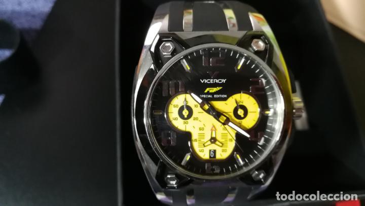 Relojes automáticos: RELOJ DEPORTIVO ,DE QUARTZ, VICEROY COLECCIÓN FERNANDO ALONSO F1, GRANDE, EDICIÓN ESPECIAL - Foto 42 - 158479642