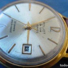 Relojes automáticos: RELOJ POLJOT DE LUXE AUTOMATICO BAÑADO EN ORO URSS. Lote 158515126