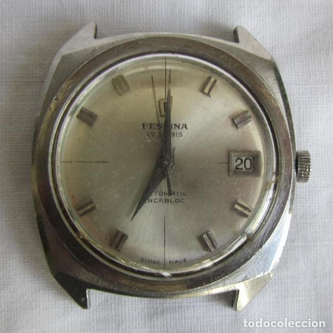 RELOJ FESTINA AUTOMÁTICO FUNCIONANDO (Relojes - Relojes Automáticos)