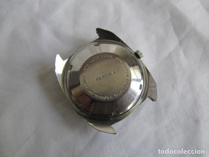 Relojes automáticos: Reloj Festina automático funcionando - Foto 5 - 158809890