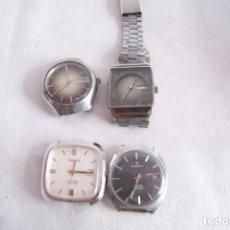 Relojes automáticos: LOTE DE 4 AUTOMATICOS CABALLERO YEMA, JUSTINA... F7. Lote 159125554