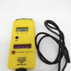 Relojes automáticos: RELOJ CRONÓMETRO HEUER MODELO MICROSPLIT 200 SOLAR. Lote 160039846