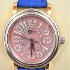 Relojes automáticos: RELOJ MUJER SERIE LIMITADA DE PEDRO IZQUIERDO MODELO LA PEPA EN 3 OROS MACIZO 18K.. Lote 160085442