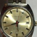 Relojes automáticos: RELOJ KIENZLE AUTOMÁTICO 25 JEWELS MADE IN GERMANY EN ACERO COMPLETO VINTAGE EN FUNCIONAMIENTO. Lote 160096686