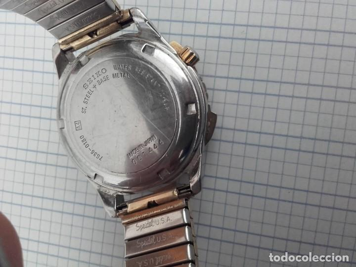 Relojes automáticos: Seiko 5 Sports 100m 7S36 0180 automatico para caballero funcionando - Foto 6 - 160572442