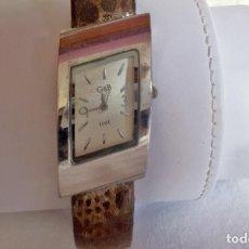 Relojes automáticos: RELOJ DE SEÑORA G&B-FASHION. Lote 160895310