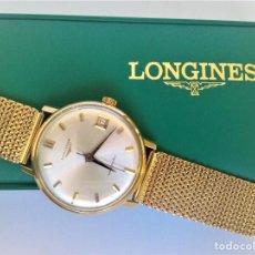 Relojes automáticos: RELOJ LONGINES EN ORO MACIZO DE 18 KILATES/750MM AUTOMATICO Y ANTIGUO. Lote 160898566