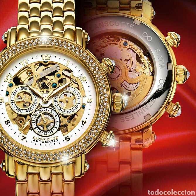 Joya Infinity SwarovskiObra Importante Oro Reloj MaestraGalería Coleccionista 18k Y De Señora uTZikXPO