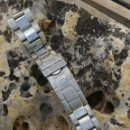 Relojes automáticos: CORREA DE RELOJ DE ACERO. Lote 161247393