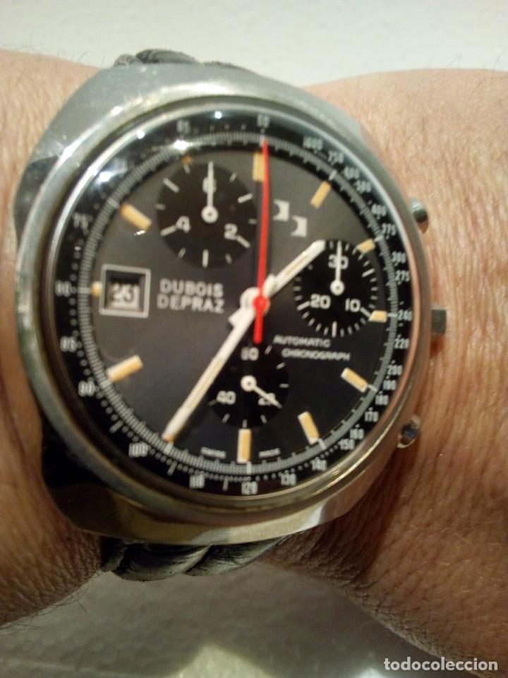 RELOJ DUBOIS DEPRAZ CRHONO MANUFACTURA AÑOS 70 RARO (Relojes - Relojes Automáticos)