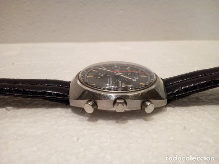 Relojes automáticos: Reloj Dubois Depraz Crhono manufactura años 70 Raro - Foto 3 - 161457954
