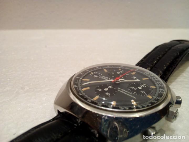 Relojes automáticos: Reloj Dubois Depraz Crhono manufactura años 70 Raro - Foto 4 - 161457954