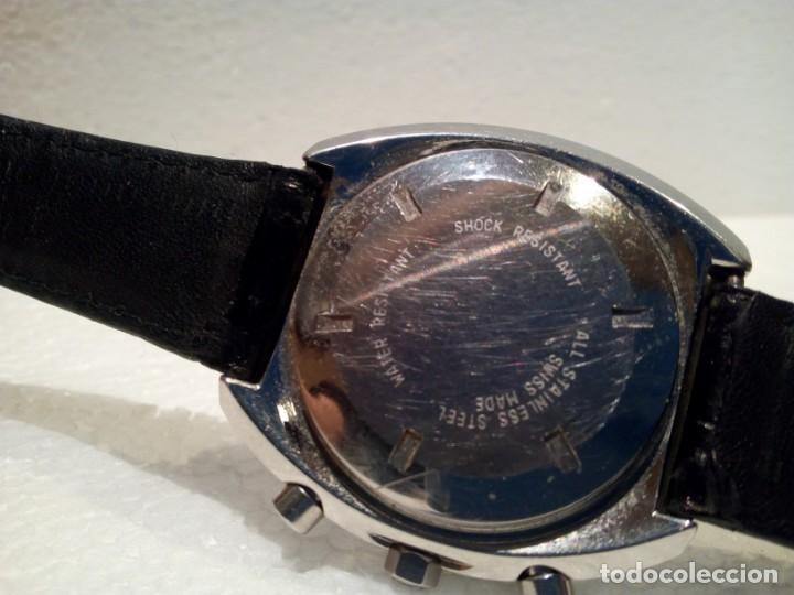 Relojes automáticos: Reloj Dubois Depraz Crhono manufactura años 70 Raro - Foto 5 - 161457954