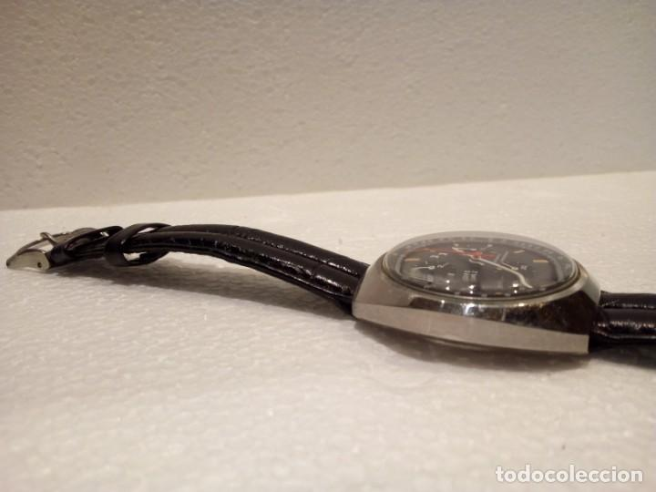 Relojes automáticos: Reloj Dubois Depraz Crhono manufactura años 70 Raro - Foto 6 - 161457954