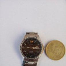 Relojes automáticos: ORIENT CRYSTAL AUTOMATICO 21 JEWELS 1980 ANTIGUO, TODO DE ACERO. Lote 161864762