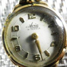 Relojes automáticos: PRECIOSO AVIA AÑOS 50 CHAPADO EN ORO DE 20 MICRAS EXCELENTE ESTADO LOTE WATCHES. Lote 161950642