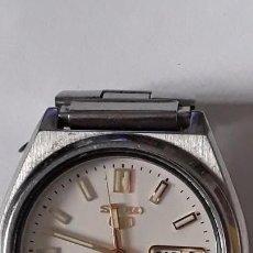 Relojes automáticos: RELOJ DE PULSERA CABALLERO AUTOMATICO SEIKO 5, BUEN ESTADO Y FUNCIONA. Lote 162069646