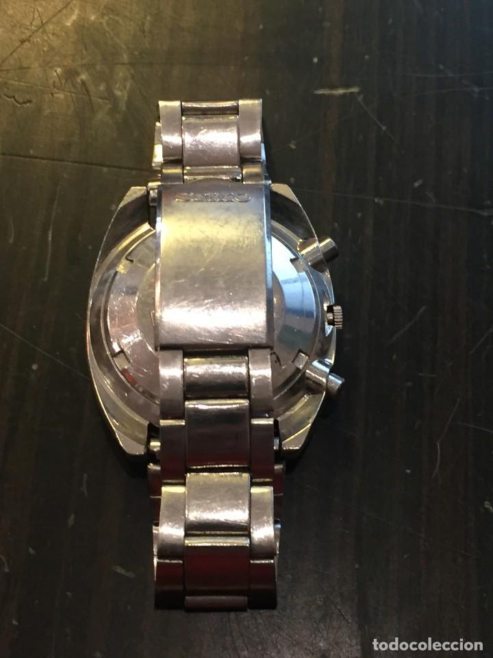 Relojes automáticos: RELOJ SEIKO CHRONO AUTOMATICO MODELO 6139-7020 DE LOS AÑOS 70 - Foto 5 - 162341046