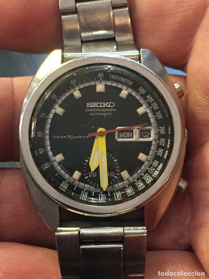 Relojes automáticos: RELOJ SEIKO CHRONO AUTOMATICO MODELO 6139-7020 DE LOS AÑOS 70 - Foto 7 - 162341046