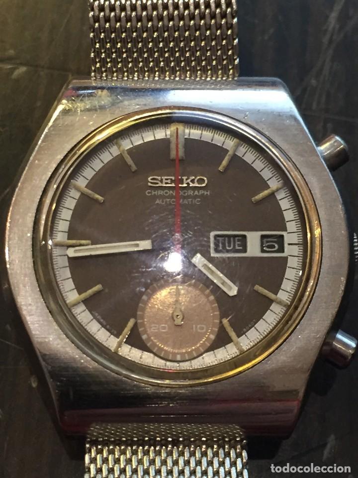 Relojes automáticos: RELOJ SEIKO CHRONO AUTOMATICO MODELO 6139-8020 DE LOS AÑOS 70 - Foto 2 - 162341410