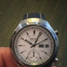 Relojes automáticos: RELOJ SEIKO CHRONO AUTOMATICO MODELO HELMET 6139-7100 DE LOS AÑOS 70. Lote 162341670