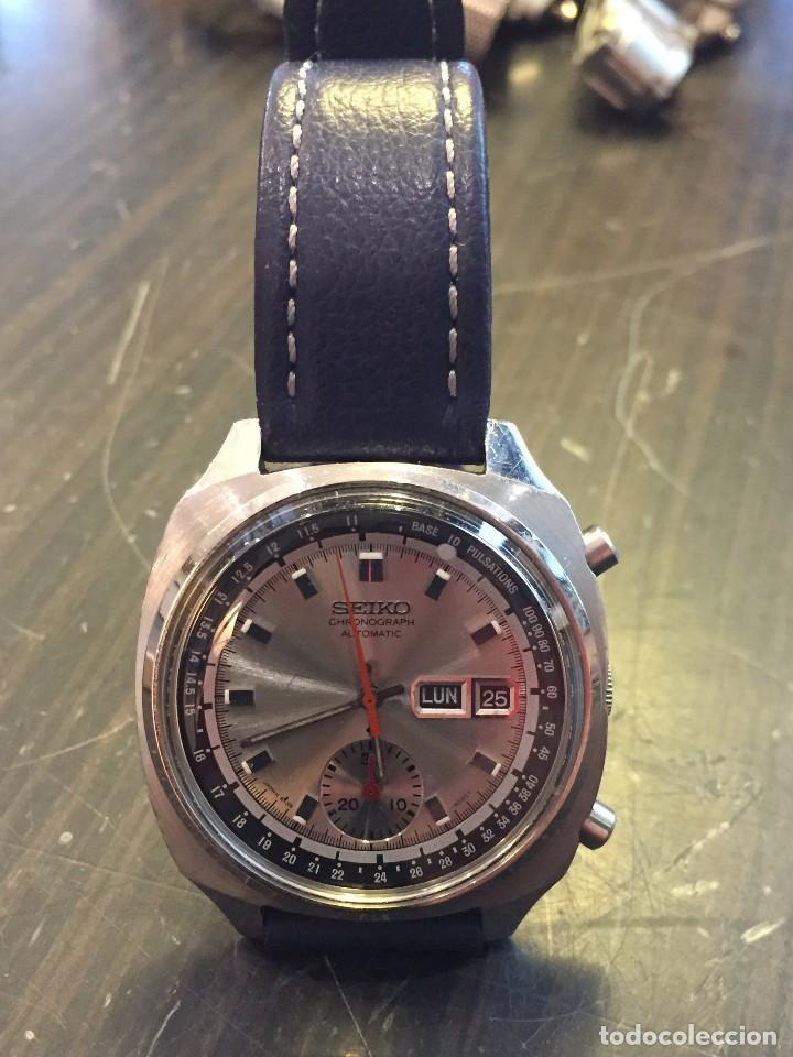 RELOJ SEIKO CHRONO AUTOMATICO MODELO 6139-6022 DE LOS AÑOS 70 (Relojes - Relojes Automáticos)