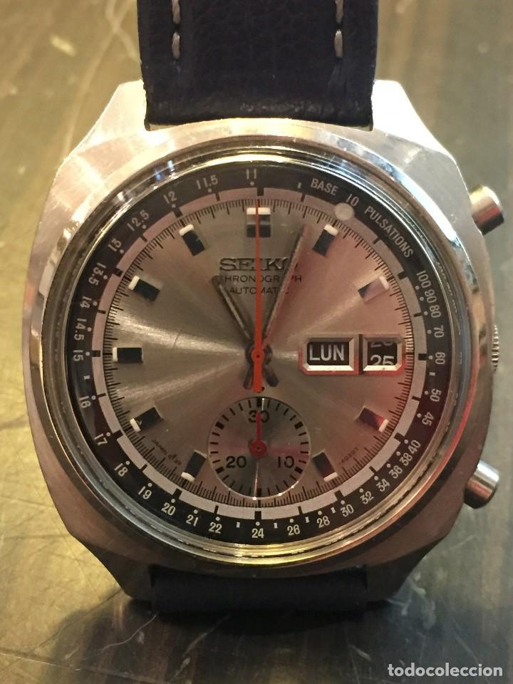 Relojes automáticos: RELOJ SEIKO CHRONO AUTOMATICO MODELO 6139-6022 DE LOS AÑOS 70 - Foto 2 - 162341950