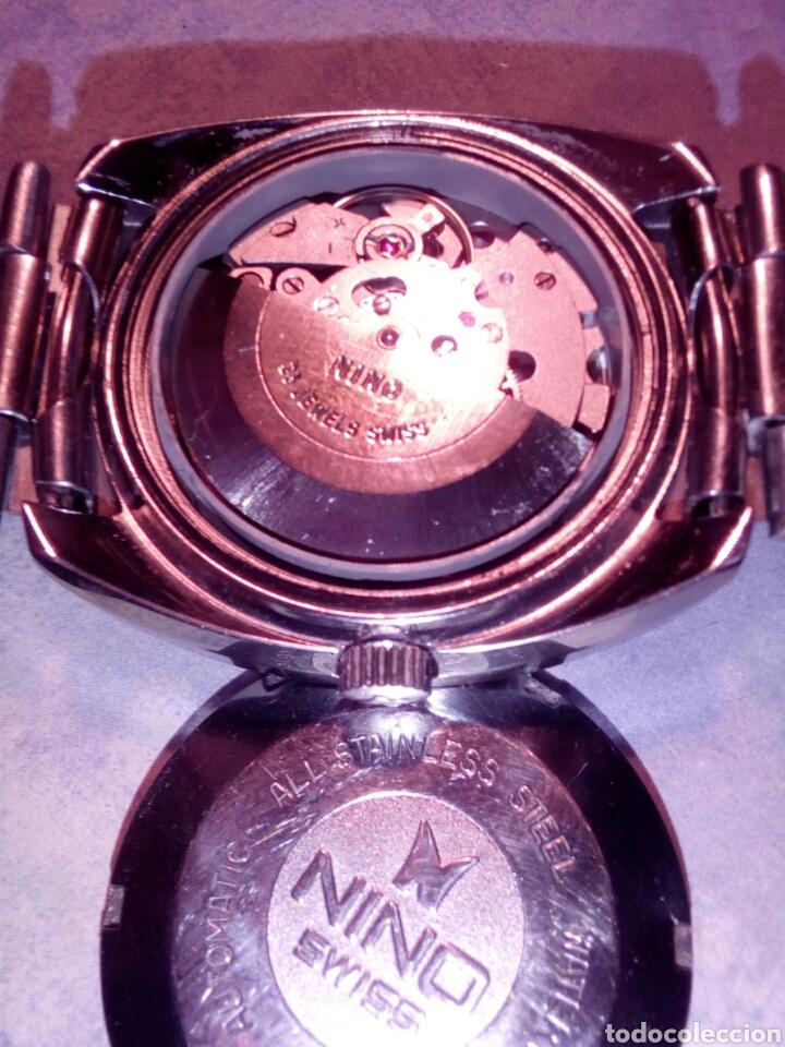 Relojes automáticos: NINO automatic 25 jewels swiss made - Foto 4 - 162602152