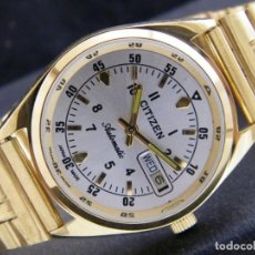 Relojes automáticos: RELOJ VINTAGE DE PULSERA CITIZEN CHAPA DE ORO MADE IN JAPAN . Lote 162989790