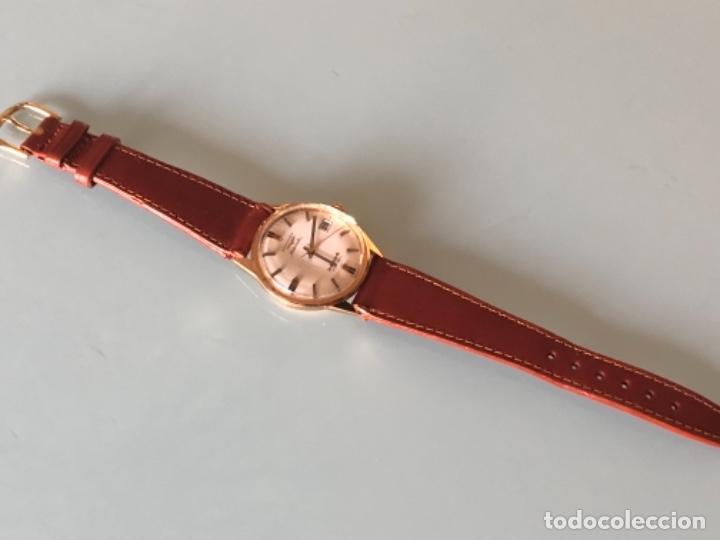 Relojes automáticos: RELOJ LONGINES ADMIRAL 5 ESTRELLAS ORO DE 18 QUILATES AÑOS 70 - Foto 6 - 163039442