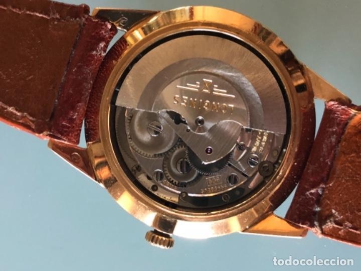 Relojes automáticos: RELOJ LONGINES ADMIRAL 5 ESTRELLAS ORO DE 18 QUILATES AÑOS 70 - Foto 14 - 163039442