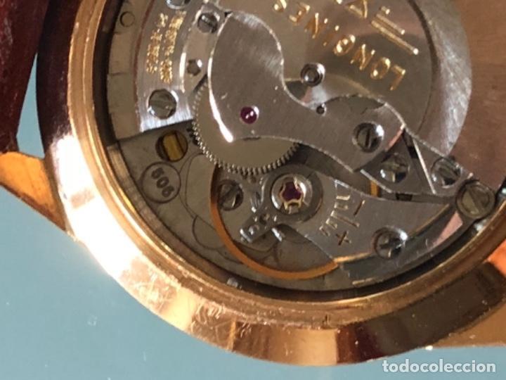 Relojes automáticos: RELOJ LONGINES ADMIRAL 5 ESTRELLAS ORO DE 18 QUILATES AÑOS 70 - Foto 16 - 163039442