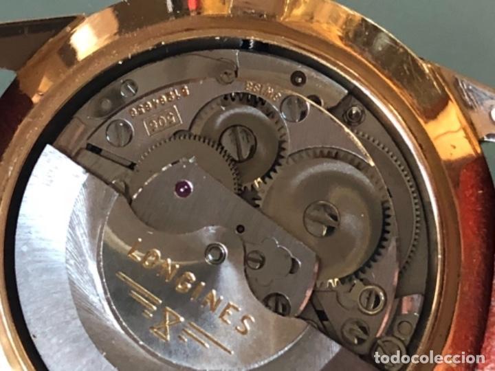 Relojes automáticos: RELOJ LONGINES ADMIRAL 5 ESTRELLAS ORO DE 18 QUILATES AÑOS 70 - Foto 18 - 163039442