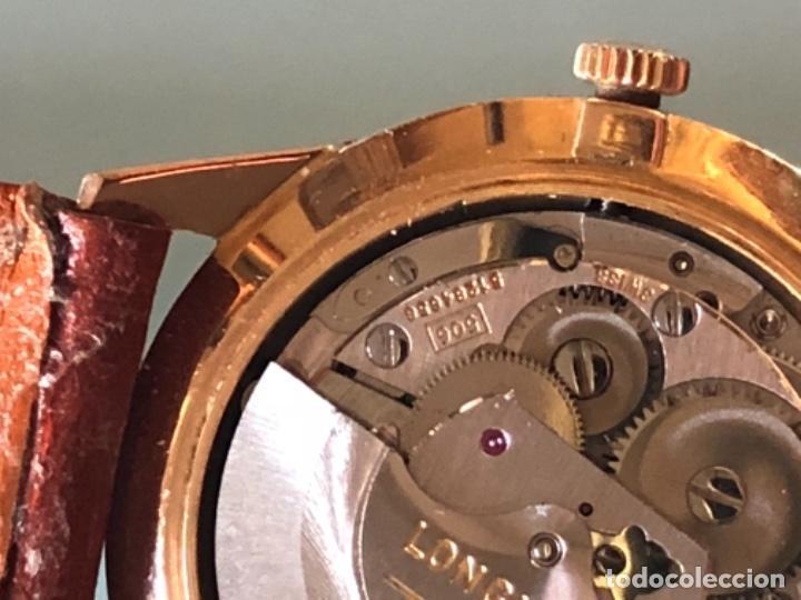Relojes automáticos: RELOJ LONGINES ADMIRAL 5 ESTRELLAS ORO DE 18 QUILATES AÑOS 70 - Foto 19 - 163039442
