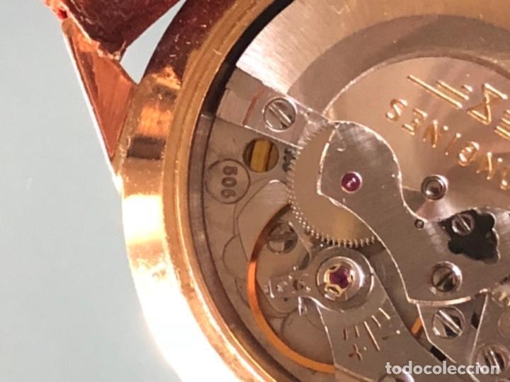 Relojes automáticos: RELOJ LONGINES ADMIRAL 5 ESTRELLAS ORO DE 18 QUILATES AÑOS 70 - Foto 20 - 163039442