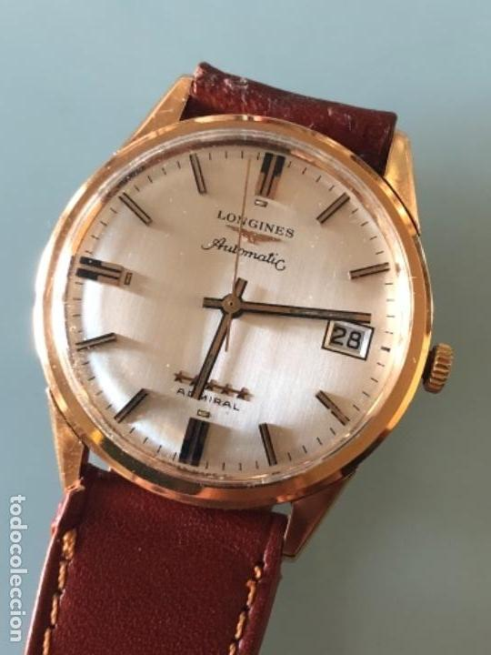 RELOJ LONGINES ADMIRAL 5 ESTRELLAS ORO DE 18 QUILATES AÑOS 70 (Relojes - Relojes Automáticos)