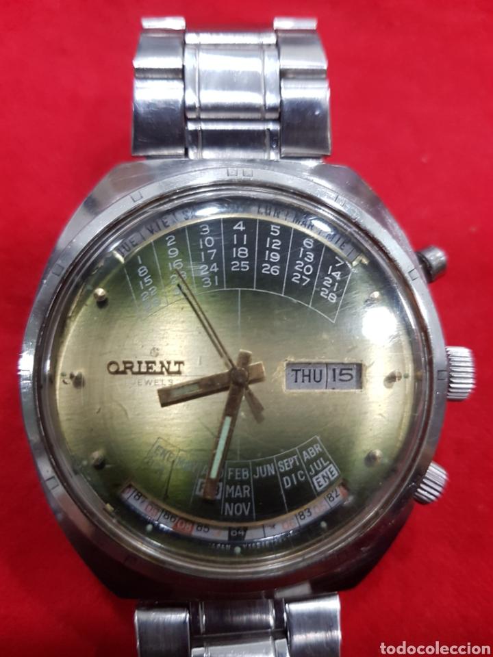 08c6c5cf5b0c Reloj orient orario mundial 3 tornillos - España - Espectacular reloj orient