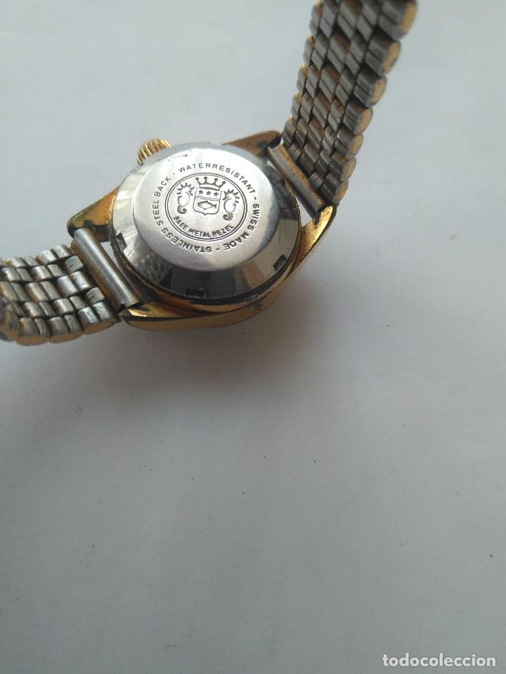 Relojes automáticos: Reloj SICURA 17 JEWELS SHOCKRESISTANT AUTOMATIC DATE SWISS MADE FUNCIONA PERFECTAMENTE - Foto 2 - 163909926