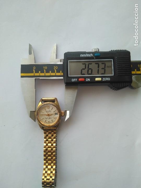 Relojes automáticos: Reloj SICURA 17 JEWELS SHOCKRESISTANT AUTOMATIC DATE SWISS MADE FUNCIONA PERFECTAMENTE - Foto 5 - 163909926