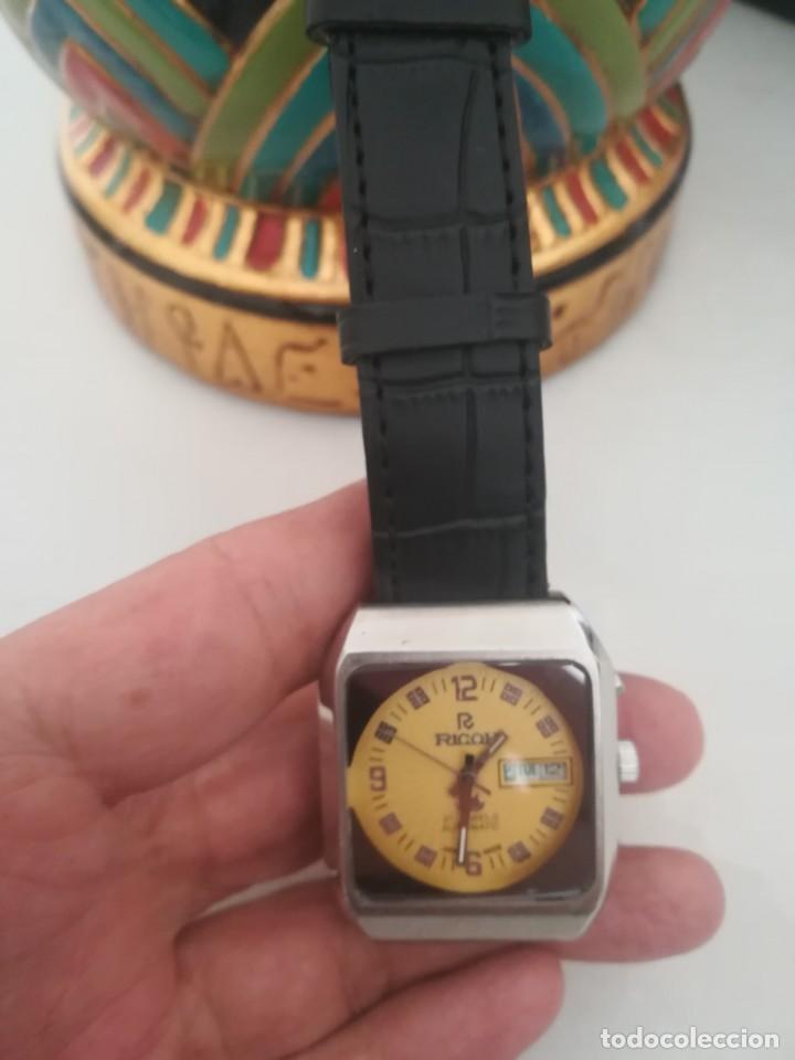 Relojes automáticos: VINTAGE RELOJ RICOH DEPORTIVO NUEVO AUTOMATICO DE LOS 70. . - Foto 2 - 163923318
