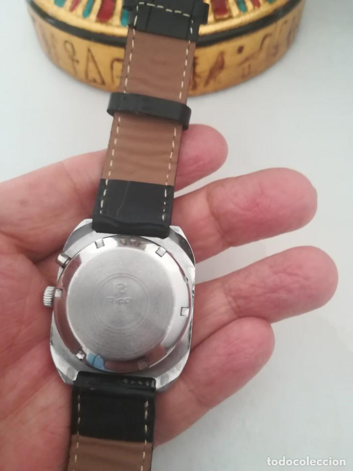 Relojes automáticos: VINTAGE RELOJ RICOH DEPORTIVO NUEVO AUTOMATICO DE LOS 70. . - Foto 4 - 163923318