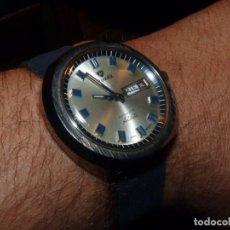 Relojes automáticos: SOLIDO RELOJ NIVADA GRENCHEN ANTARCTIC SWISS MADE TODO ACERO AÑOS 70 VINTAGE CALIBRE ETA AUTOMATICO. Lote 164276606