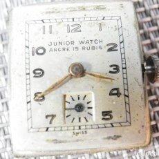 Relojes automáticos: JOYA SUIZA SEGUNDA GUERRA MUNDIAL MILITAR TRINCHERA JUNIOR WATCH LOTE WATCHES . Lote 164748726
