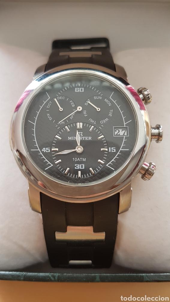 RELOJ AUTOMÁTICO MINISTER CON CAJA ORIGINAL (Relojes - Relojes Automáticos)