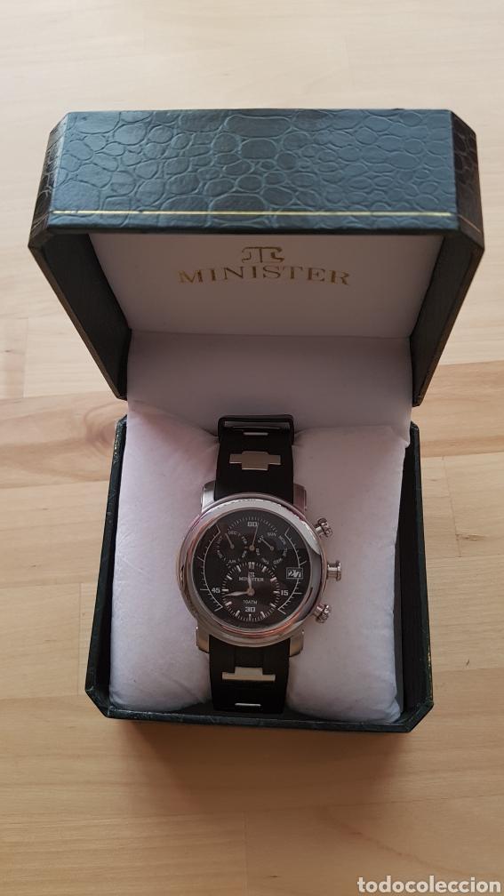 Relojes automáticos: Reloj automático Minister con caja original - Foto 2 - 171072310