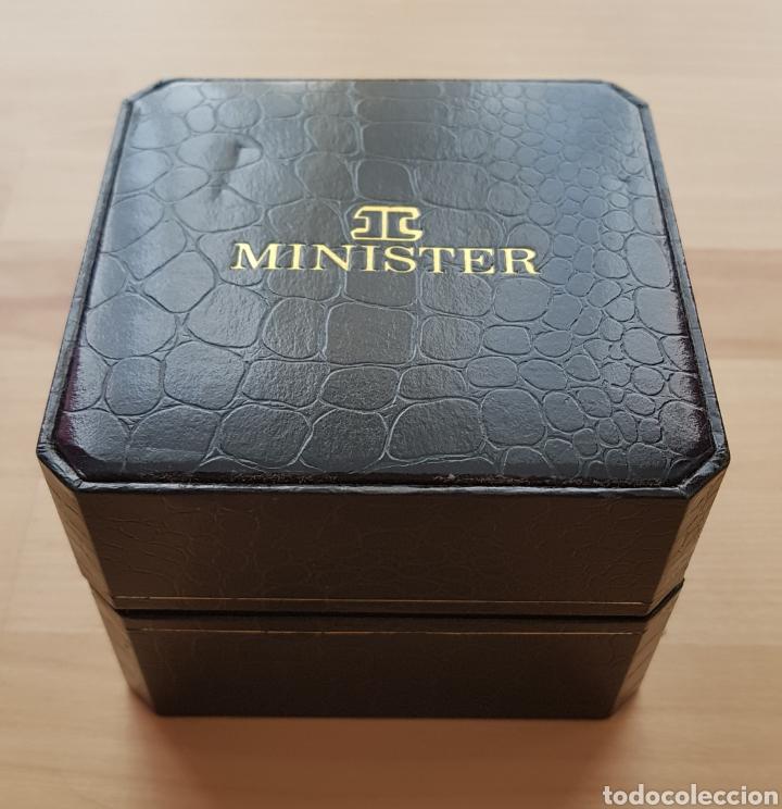 Relojes automáticos: Reloj automático Minister con caja original - Foto 3 - 171072310