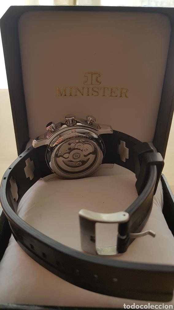 Relojes automáticos: Reloj automático Minister con caja original - Foto 4 - 171072310