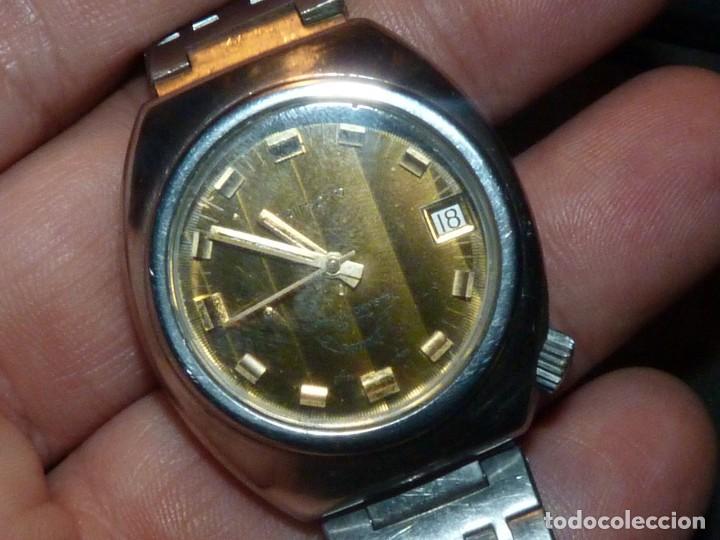 Relojes automáticos: RELOJ SQUALE Y154G BRITSCAR DIVER 20ATM VINTAGE CALIBRE ETA TODO ACERO - Foto 3 - 164974534