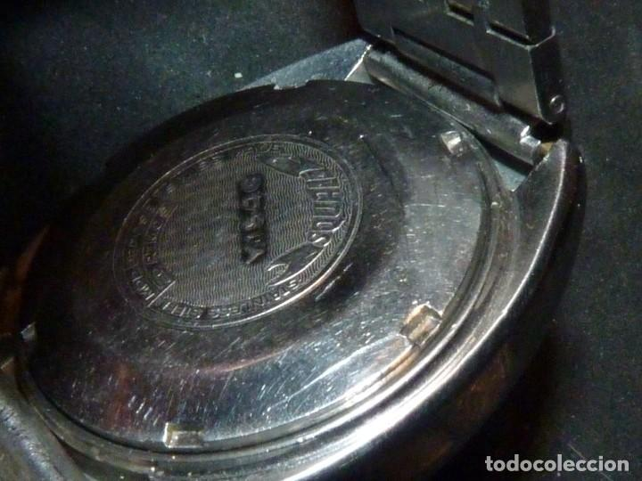 Relojes automáticos: RELOJ SQUALE Y154G BRITSCAR DIVER 20ATM VINTAGE CALIBRE ETA TODO ACERO - Foto 6 - 164974534
