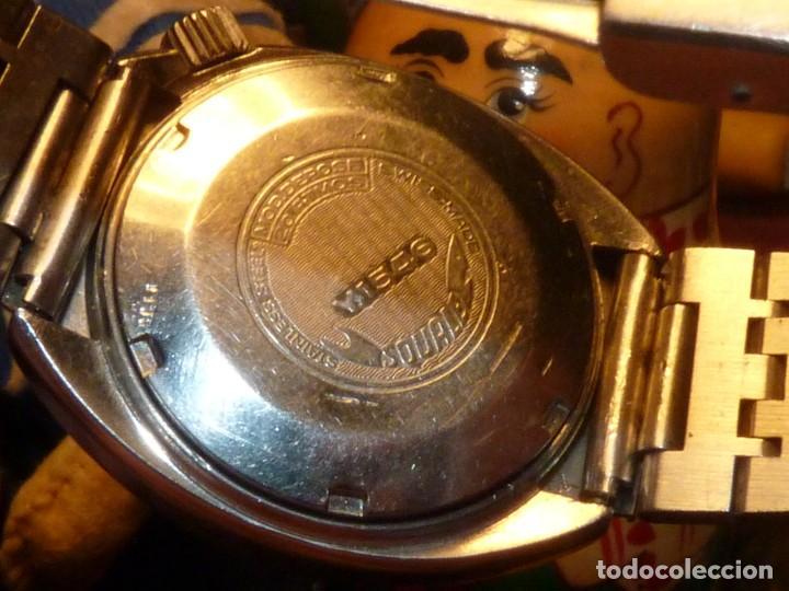 Relojes automáticos: RELOJ SQUALE Y154G BRITSCAR DIVER 20ATM VINTAGE CALIBRE ETA TODO ACERO - Foto 8 - 164974534